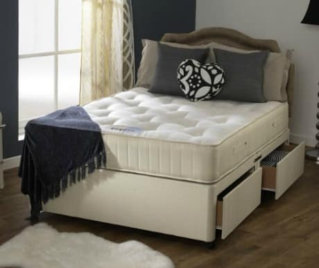 What is a sprung base divan bed bed buys uk for What s a divan bed