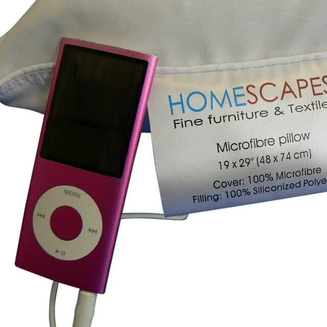 Homescapes Music Pillow with Speakers Review
